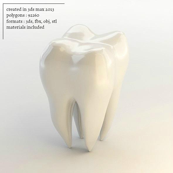 3DOcean Tooth 3D 17739188