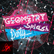 Geometry Splash Party Flyer