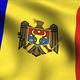 Moldova Flag Background