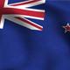 New Zealand Flag Background