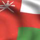 Oman Flag Background