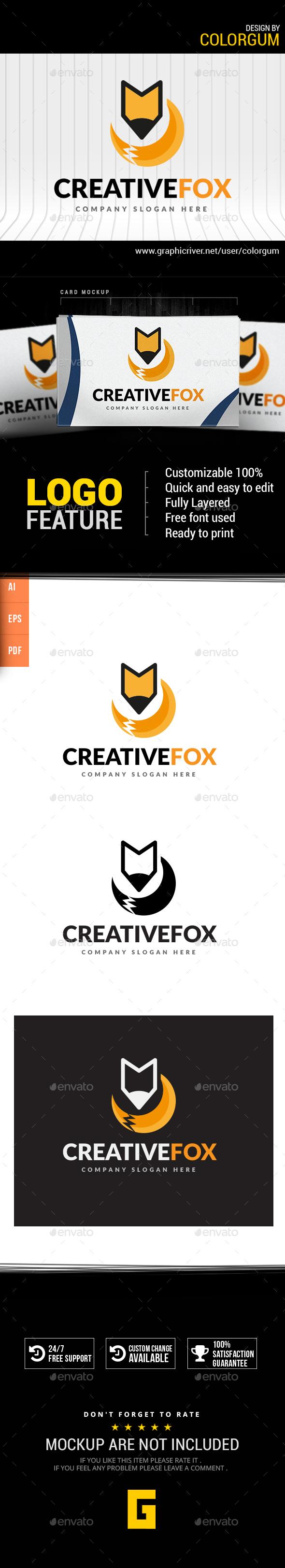Creative Fox Logo
