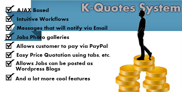 Download K-Quotes: Price Quotation System nulled download