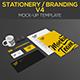 Stationery / Branding Mock-Up V4