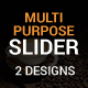 Multipurpose Web Sliders