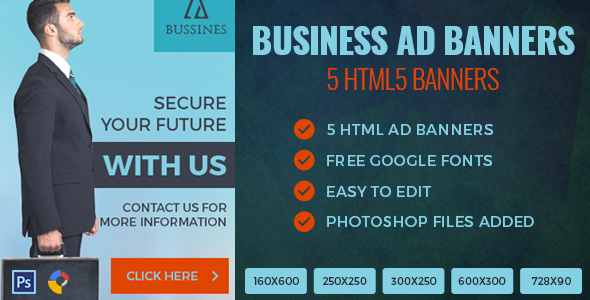 Business - HTML5 Ad Banner