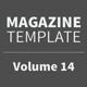 Magazine Template - Volume 14