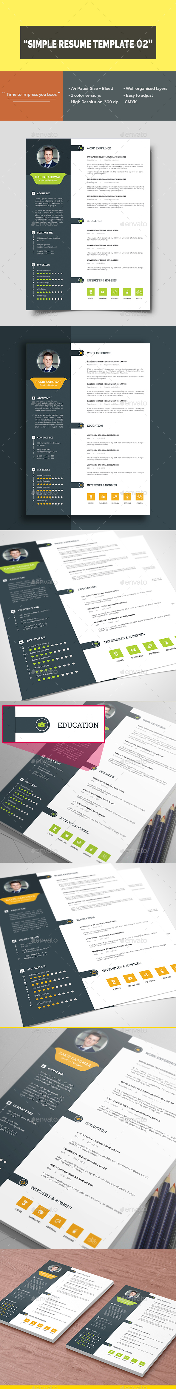 Clean Resume Template 02