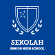 Sekolah - Senior High School Template PSD