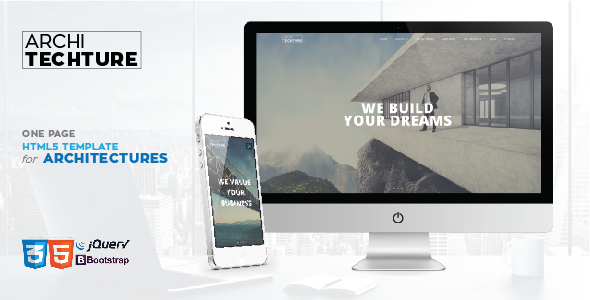 Archi_tecture - OnePage Responsive