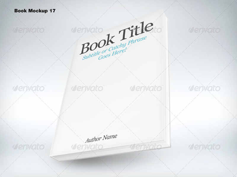 Book Mockup LARGE Pack