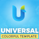 Universal - A Colorful Multipurpose Template