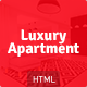 Luxury Apartment - Single property HTML5 template