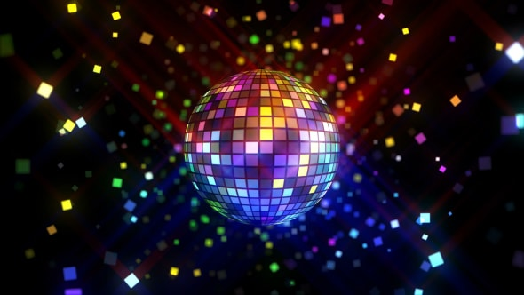 VideoHive Neon Disco Ball 2 17767782