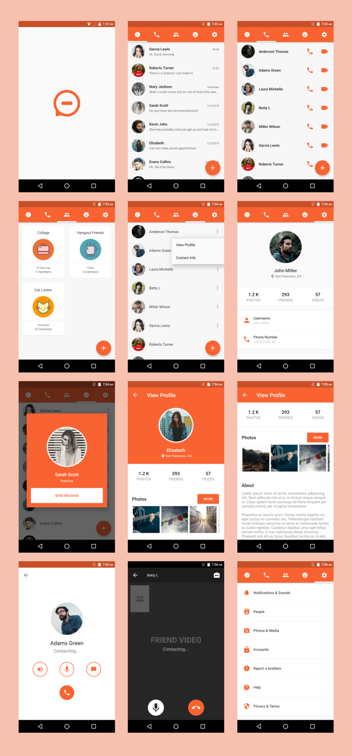 Image Result For Codecanyon Android Ui Template