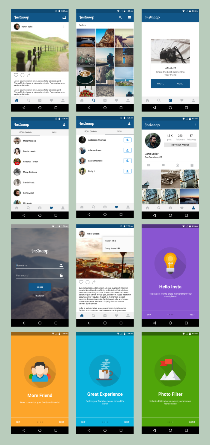 Android Material UI Template 4.0 - 29