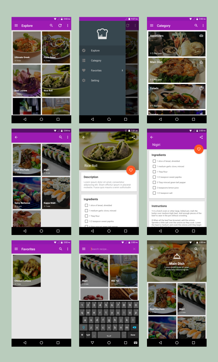 Android Material UI Template 4.0 - 31