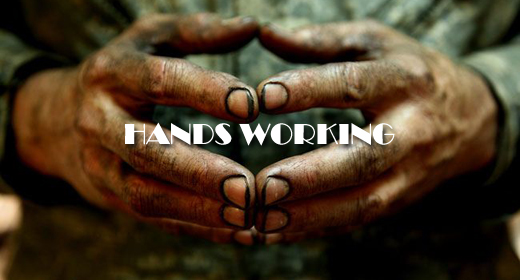 HANDS WORKING FOOTAGE