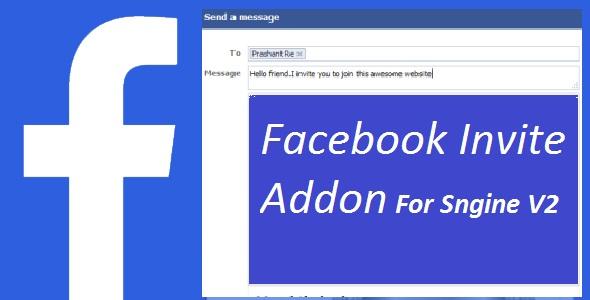 Facebook Invite Addon For sngine v2
