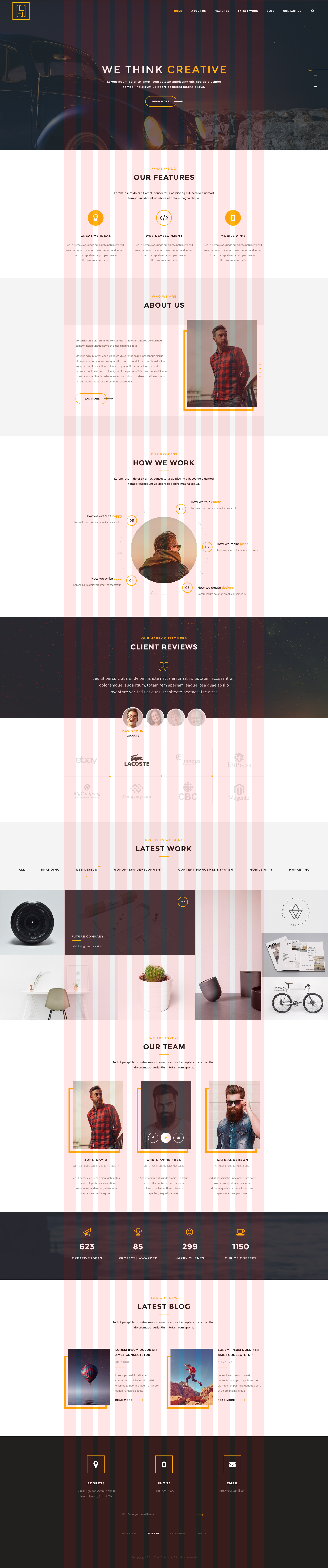 h4 mordern psd template by iconic graphics themeforest