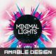 Minimal Lights Flyer/Poster