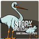Game Asset : The Stork