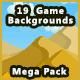 19 Pixel Game Backgrounds Bundle Kit - Forest, Mountain & Fantasy