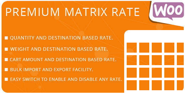 Premium Matrix Rate
