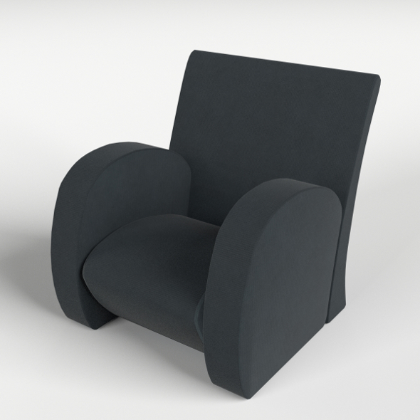 Armchair 1 - 3DOcean Item for Sale