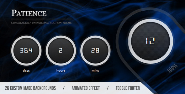 ThemeForest Patience Full Background Underconstruction 1764801