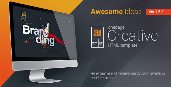 Awesome Ideas | Professional HTML Theme