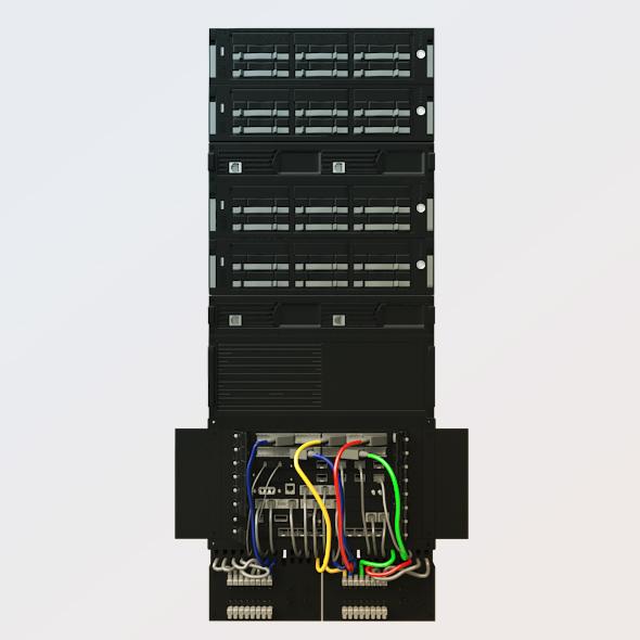 3DOcean Server Rack 207767