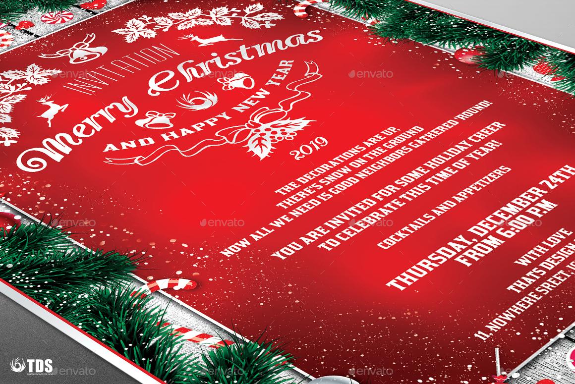 christmas invitation template v by lou graphicriver invitation template v6 jpg