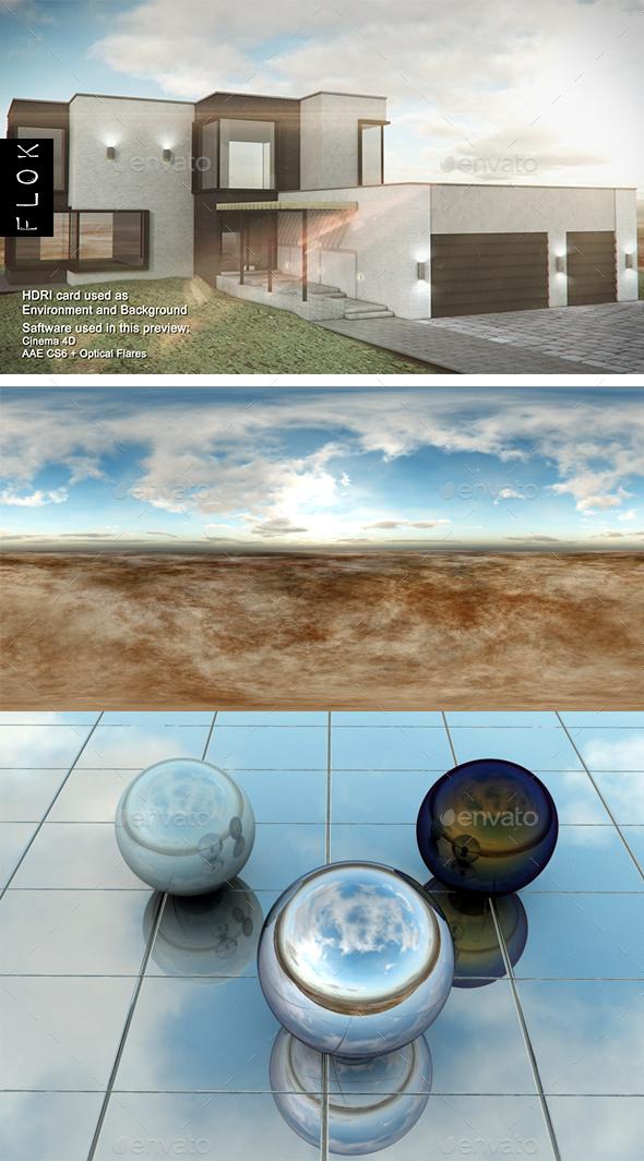 Daylight Desrt 51 - 3DOcean Item for Sale