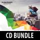 3 Corporate Business CD Cover Artwork Bundle V2