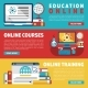 Online Education Training Courses Or Webinars