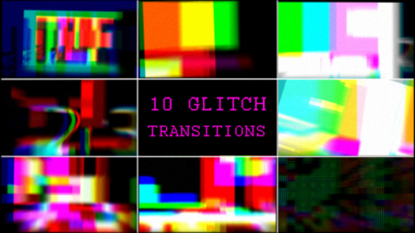 Download Pixels Glitch Transitions nulled download