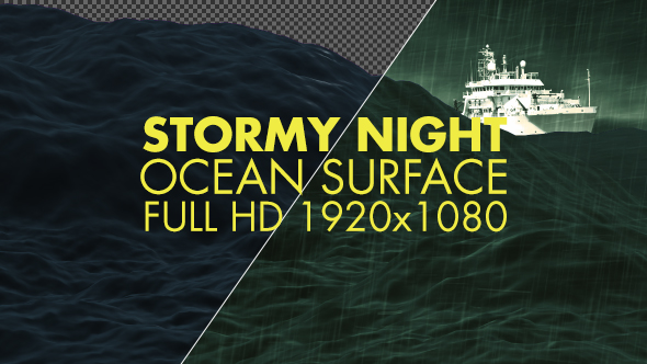 Download Rough Night Ocean Surface nulled download