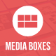 Media Boxes Portfolio - Responsive Grid