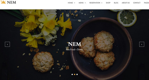 Amazing WordPress Restaurant theme 2015