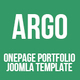 Argo | OnePage Bootstrap Metro UI Joomla template