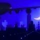 Yekaterinburg Russia Airplane Landing Skyline Moonlight Night