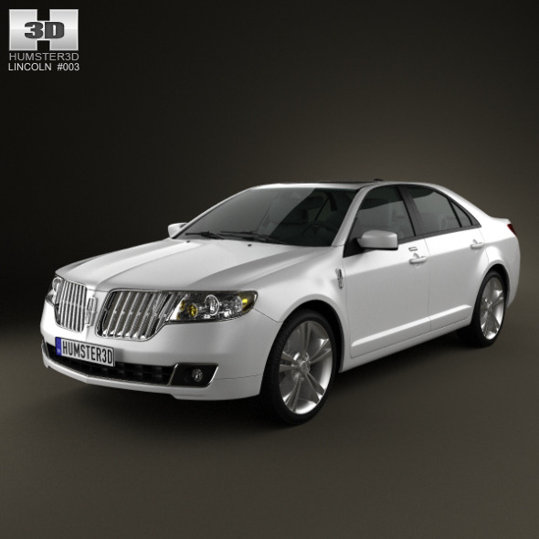 3DOcean Lincoln MKZ 2012 1766677