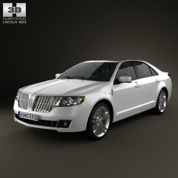 3DOcean Lincoln MKZ 2012 1766677