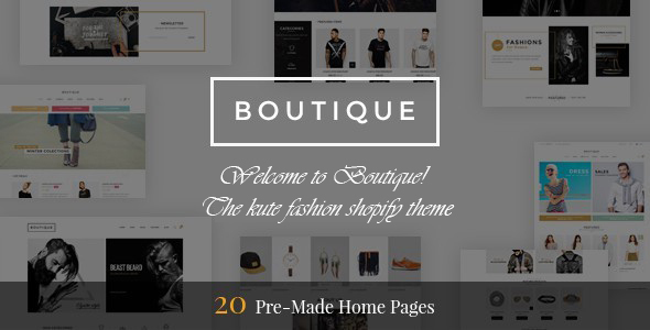 Download Boutique - Multipurpose Responsive Shopify Theme nulled download