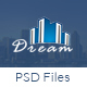 Dream - Single Property Real Estate PSD Template