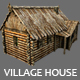 Wooden Village House