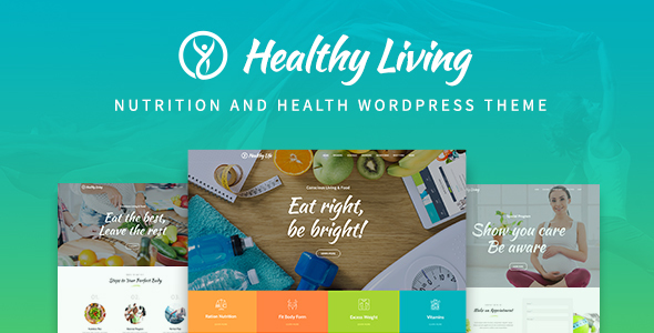 Download Healthy Living - Nutrition, Weight Loss & Wellness WordPress Theme nulled download