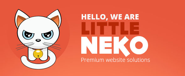 Little-neko-profile-themeforest