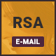 RSA-4 Unique eCommerce Multipurpose Email Template + Stampready builder